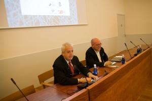 Felix Goñi (izq.) y Juan Ignacio Pérez (der.)
