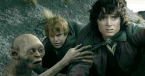Tres patéticos hobbits