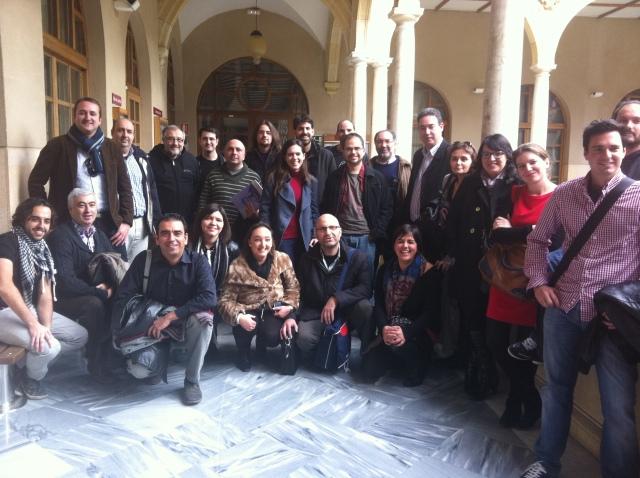 Participantes en #MurciaDivulga