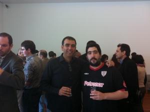Con Alvaro Bohórquez