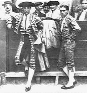 Joselito y Belmonte en la Plaza de Murcia (1920).