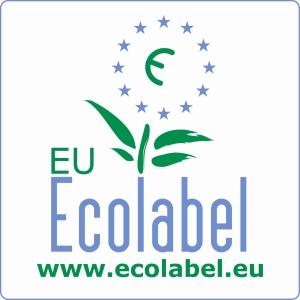 Etiqueta ecológica certificada por la UE que demuestra que un producto SÍ que es ecológico.