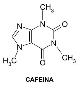Molecula Cafeina 2