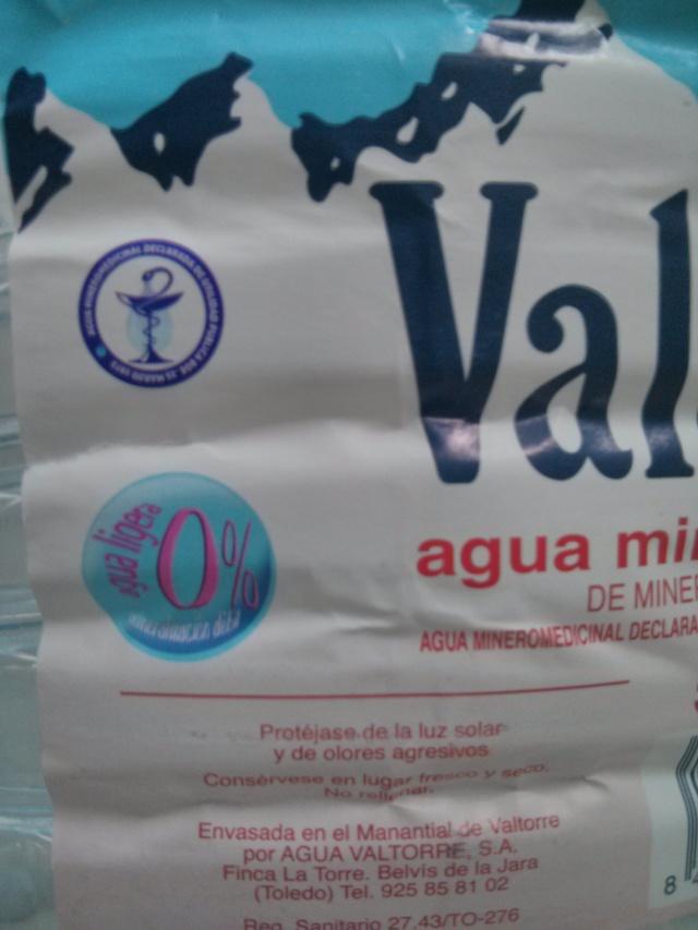 Agua Valtorre 0% (detalle)
