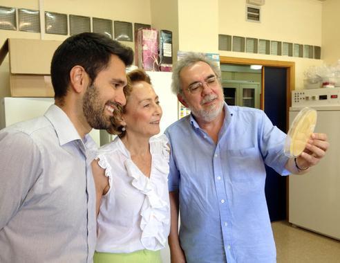 De izquierda a derecha: Francisco E. Nicolás, Rosa Ruiz y Santiago Torres.