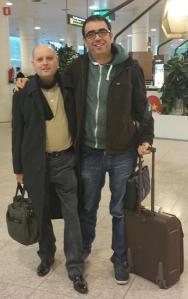 Con Juan Soler