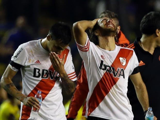 Jugadores de River Plate afectados