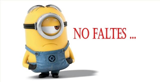 No Faltes